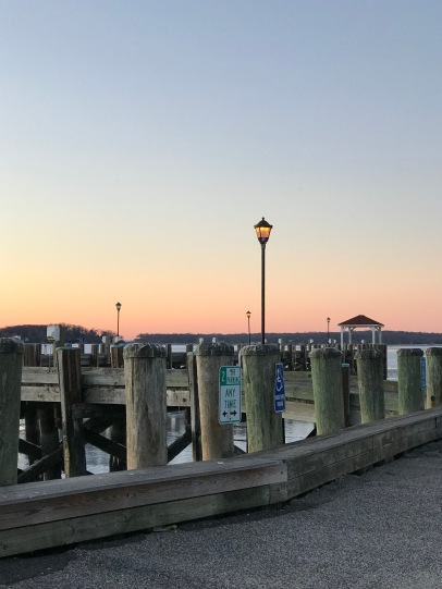 Cold harbor docks.