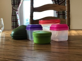 Containers that make it easy to pack and store foods