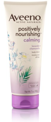 Skin care. http://www.aveeno.com/product/aveeno-+positively+nourishing-+calming+body+lotion+.do?sortby=ourPicks&from=Search