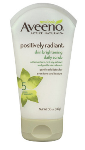 Facial wash http://www.aveeno.com/search.do?query=aveeno+positively+radiant