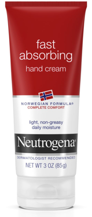 Good Hand Lotion https://www.neutrogena.com/skin/skin-bath/norwegian-formula-fast-absorbing-hand-cream/6801284.html