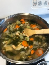 0 pt vegetable soup