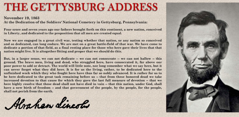 Beauty The Gettysburg Address